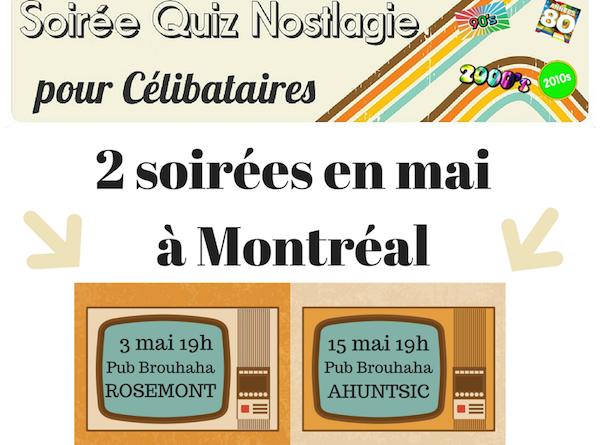 2 soirées en mai à MontréalBlogue